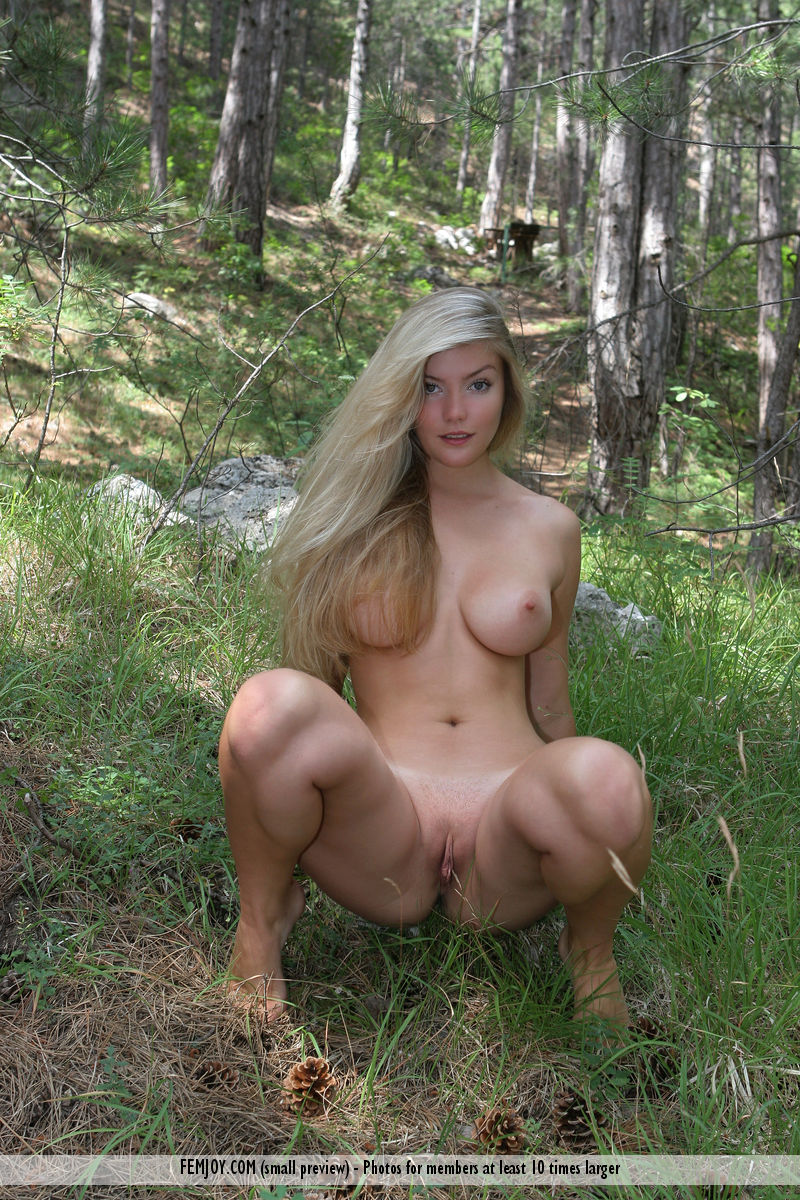 And women nude in the woods pics