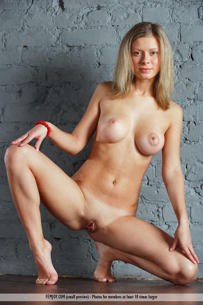 The female titan naked