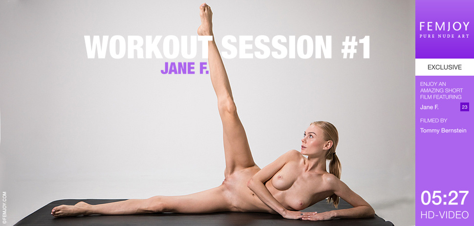 Workout Session with Jane F from Femjoy