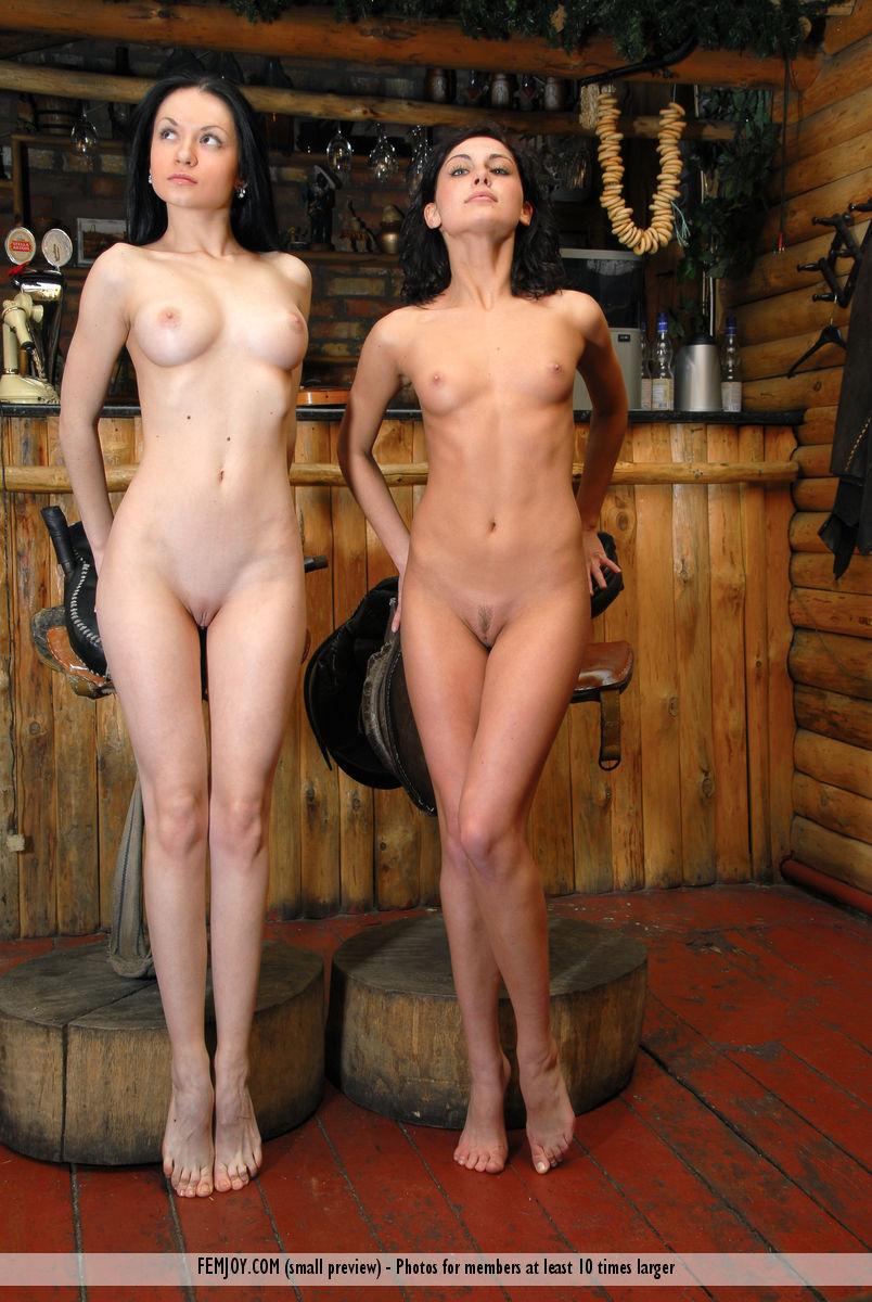Western Girls Nude