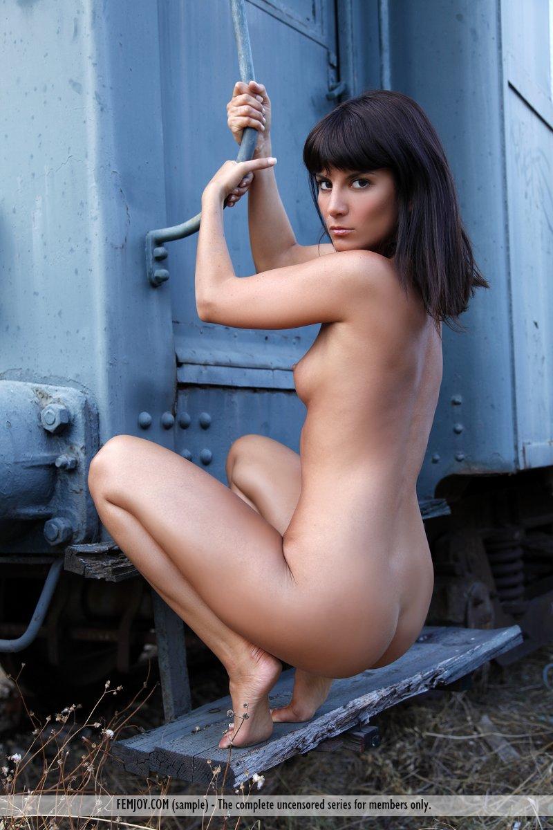 Amandine Naked free femjoy gallery - amandine c. - do not miss this train