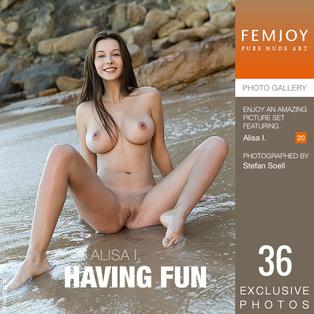Alisa I.: Having Fun
